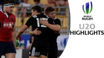 HIGHLIGHTS! New Zealand 68-10 Scotland at World Rugby U20 Championship
