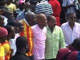 Inauguration de la nouvelle Place Sainte-Anne: Propos du Président Michel Martelly