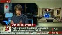 La gauchiste de RDI débat Robert Poëti contre Nicole Filion qui adore les manifestants masqués
