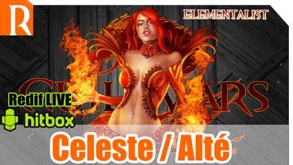GW2 Ranked sPVP - Elementaliste Celeste / alté - Staff