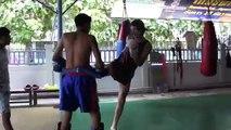 MUAY THAI KICK BOXING WITH TONY JAA TRAINER