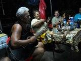 Bringue tahitienne en Polynésie on Saturday night
