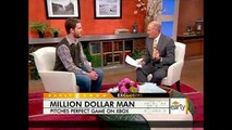 Man Wins One Million Dollars Playing MLB 2K10 (CBS Early Show Appearance) - Ripten.com