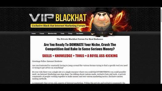 Black Hat Website