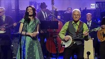 "Steve Martin & Edie Brickell ""When You Get to Asheville"" @ David Letterman Show 23/04/13 SUB ITA"