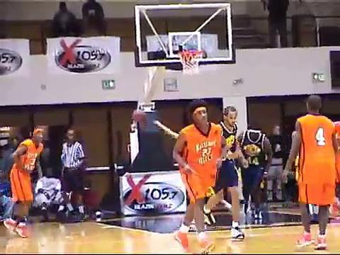 Basketball Highlights  &  The And1  ( Baltimore )