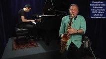 """""""Jazz Improvisation Tips"""" Jerry Bergonzi Amazing Out-on-Purpose Saxophone Solo How to Improvise Jazz"""