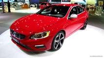 2014 Volvo S60 T6 AWD R-Design Polestar - Exterior and Interior Walkaround - 2013 LA Auto Show