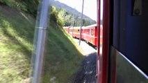 Zugfahrt Klosters- Davos- Filisur