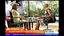 Claudia Gurisatti, directora de NTN24, nueva directora de Noticias RCN en Colombia