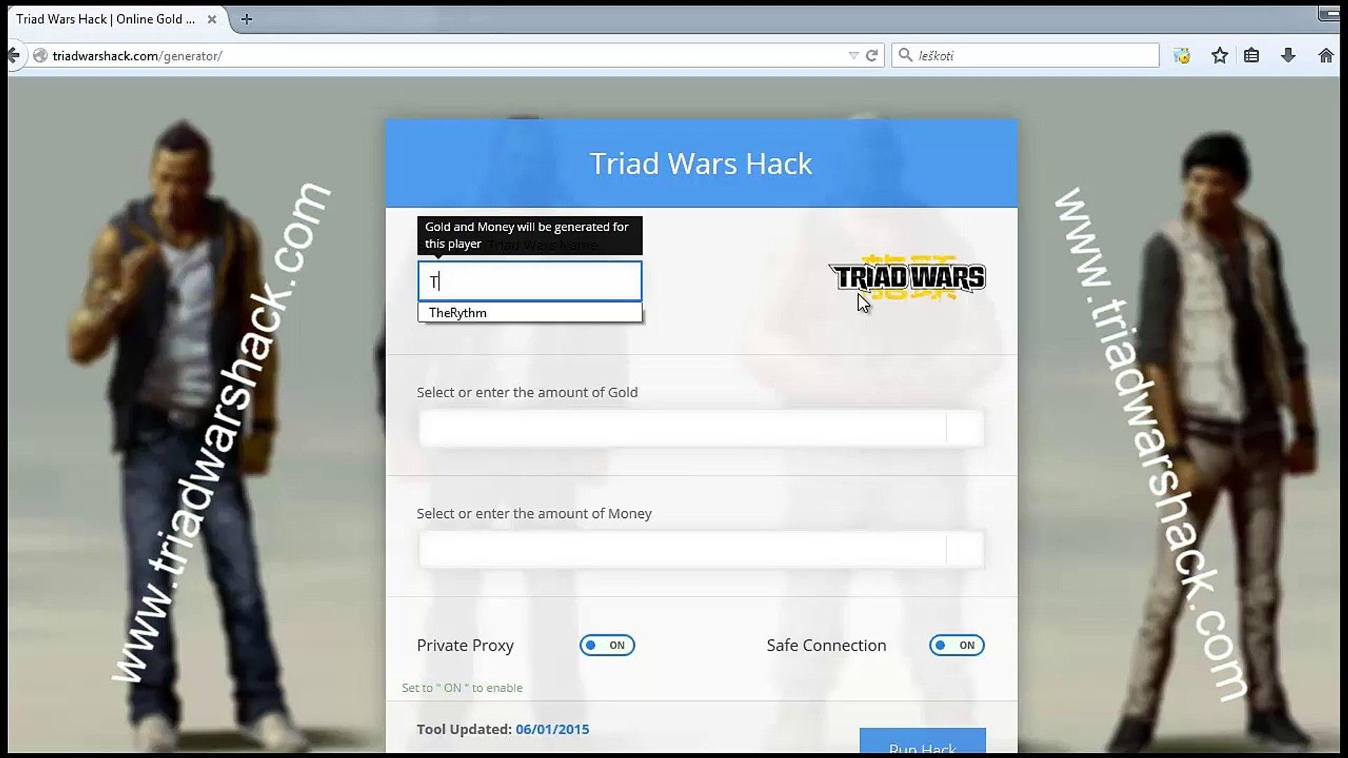 Triad Wars Money and Gold Generator - First working Triad Wars Cheats