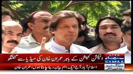 PTI Chairman Imran Khan Media Talk – 2nd June 2015