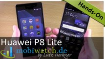Huawei P8 Lite: Das abgespeckte P8 im Hands-on-Test