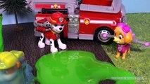 PAW PATROL Nickelodeon Paw Patrol Saves the Slimed Super Heroes a Paw Patrol Video Parody