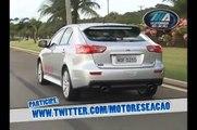 Test Drive Lancer Sedan GT e Sportback Ralliart - Programa Motores e Ação
