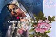 Chercher avec toi Vierge MARIE --- Chansons de messe de mariage