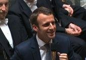 Le lapsus d'Emmanuel Macron à l'Assemblée a bien fait rire les députés