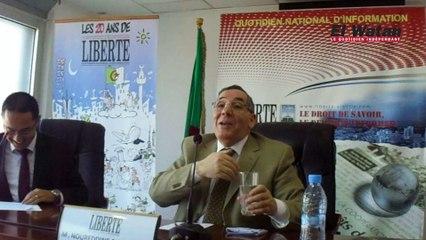 Noureddine Boukrouh : L'Algérie sombre dans la folie