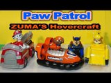 Paw Patrol New Toy Unboxing, ZUMA'S Hovercraft with Rubble Chase and Marshall  cool