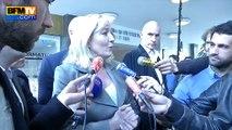 """Plainte du Qatar contre Philippot: """"nous allons apporter des preuves"""", dit Marine Le Pen"""