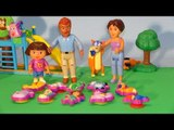 10 Surprise Eggs from Dora The Explorer Play Set with Surprises from Swiper The Swiper