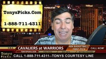 Golden St Warriors vs. Cleveland Cavaliers Free Pick Prediction NBA Pro Basketball Finals Playoffs Game 1 Odds Preview 6