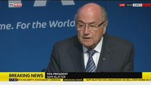 Sepp Blatter Resigns from FIFA