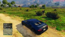 GTA 5 Online Funny Moments - Flying Cars, Ramp Cars, and Rocket Cars