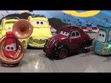 Disney Pixar Cars2 New Car,  Mama Topolino, Uncle Topolino, Luigi with all the Pitties