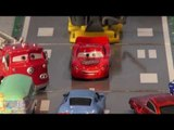 Pixar Cars by Disney, Re Enactment, Lightning McQueen helps Radiator Springs cars. Real nice remake.