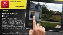 A vendre - maison - SAINT MALO (35400) - 7 pièces - 131m²