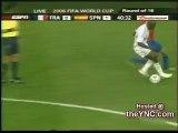 FIFA 2006 WorldCup - FRA Vs SPN - Funny Video