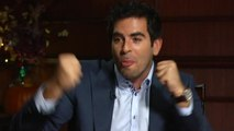 Eli Roth discusses what makes a good horror movie and his dad