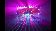 UNITED LASER High power laser show at Hard Rock Live, UNIVERSAL Studios Orlando, FL
