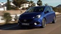 EM MOVIMENTO Opel Corsa OPC 2016 FWD aro 17 1.6 EcoTec Turbo 210 cv 28,5 mkgf 230 kmh 0-62 mph 6,8 s @ 60 FPS