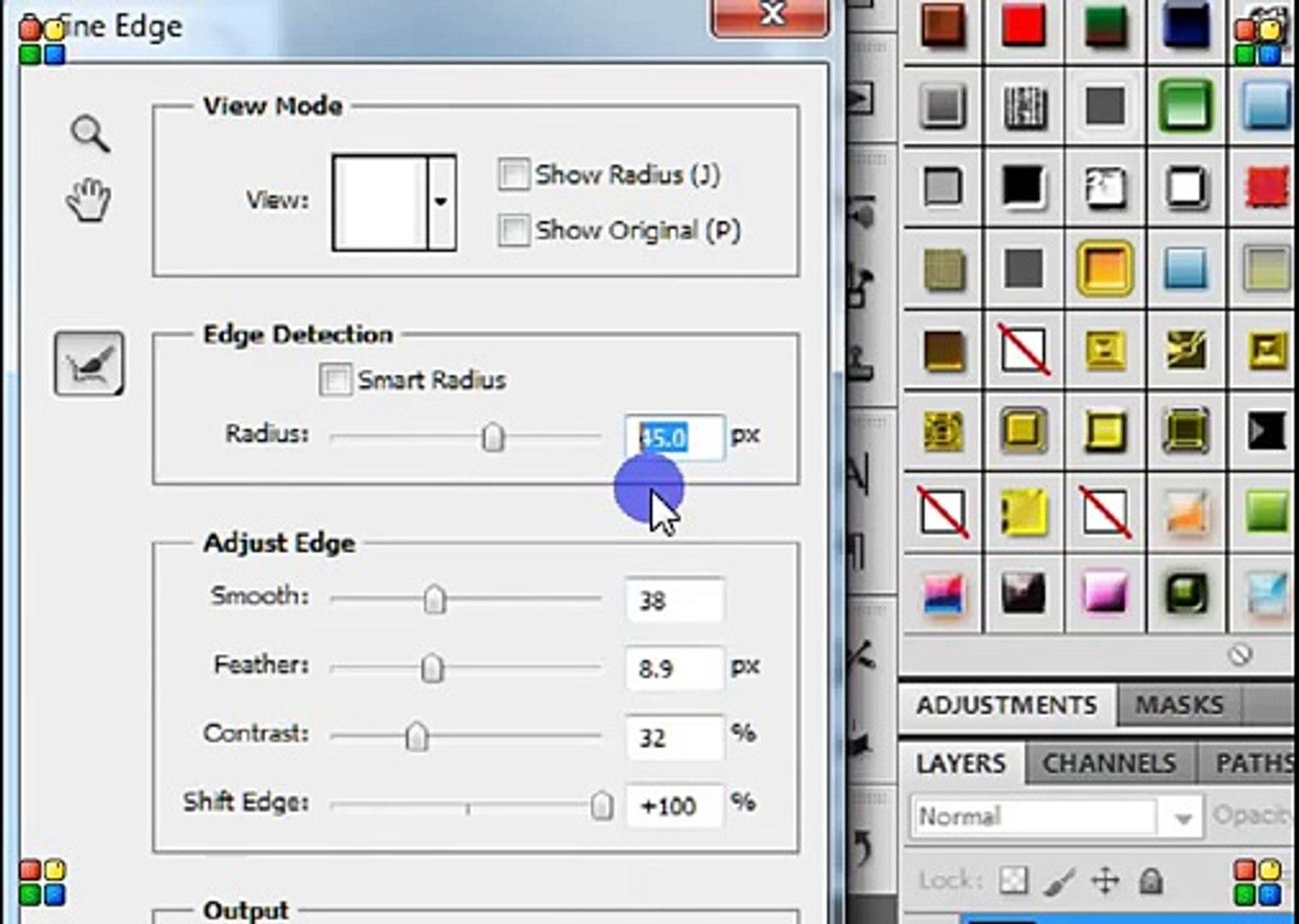 كيفية عمل برواز احترافي على الفوتوشوب CS5