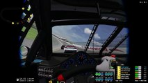 Sanair Speedway Live Action (3D) vs Pocono Speedway iRacing (VR