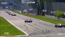 Monza2015 Race 1 Giovinazzi Crashes into Stroll