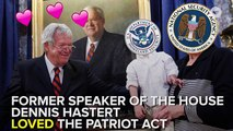 Rep. Who Fought For PATRIOT Act Gets Caught By PATRIOT Act