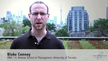 Student Video: Transitioning to Business School - Toronto Rotman School of Management