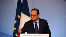 Réveil-FM: François Hollande face aux Ambassadeurs à l'Elysée 2