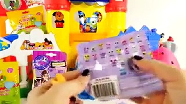 HUGE SHOPKINS Play Doh Eggs Disney Wikkeez Lalaloopsy Peppa Pig LPS Surprise Blind Bag Toys DCTC 4