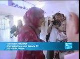 RASD / MAROC :  Aminatou Haidar est de retour au Sahara occidental