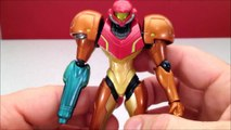 METROID SAMUS ARAN FIGMA - OTHER M ACTION FIGURE VIDEO REVIEW