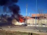 TAZA MAROC Contre Police أهالي تازة في مواجهات مع الأمن المغربي 4