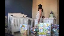 Time-lapse d'une femme enceinte du 1er jour à la naissance : 1 photo par jour