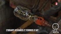 Tendances - Etudiants designers et verriers d'art