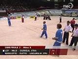 Pétanque Mondial 2006 demi-finale dernière mène 1sur2