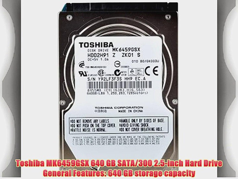 """Toshiba MK2555GSXF 250GB SATA//300 5400RPM 8MB 2.5/"""" Hard Drive"""
