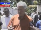 HAITI NEWS DESK- REBUILDING THE COUNTRY- BILL CLINTON IN HAITI